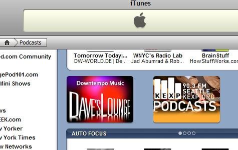 Dave's Lounge featured on iTunes